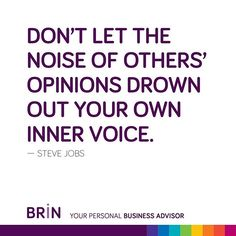 """Top 100 steve jobs quotes photos """"Don't let the noise of others' opinions drown out your own inner voice."""" - Steve Jobs ⠀ ⠀ Download #BRinapp at the App Store or Google Play. ⠀ ⠀ #Quoteoftheday #Quoted #BRiNQuotes #quotes #stevejobs #Stevejobsquotes #startupquotes #startup #businessquotes #business #artificialintelligence #AI #inspiring #motivational #motivationalquotes See more http://wumann.com/top-100-steve-jobs-quotes-photos/"""
