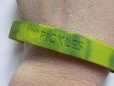 Oh yea. That's fashion right there. Wear it proud, pickle people!