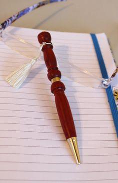 Wood Pen Hand Turned Bagpipe Drone Pen by handmadebyMarcyNTom, $24.99