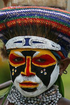 Goroka show in Papua New Guinea