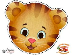 Daniel Tiger Mask - PBS Kids  My tot LOVES Daniel Tiger! This will be a fun craft to do with her.