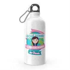 Termo - El termo del mejor papá del planeta, encuentra este producto en nuestra tienda online y personalízalo con un nombre. Water Bottle, Drinks, Best Mom, Carton Box, Pintura, Art, Bottles, Drinking, Beverages