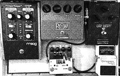 My Gallows Ghost bass pedal board Bass Pedals, Gallows, Pedalboard, Guitar Amp, Music Instruments, Musical Instruments