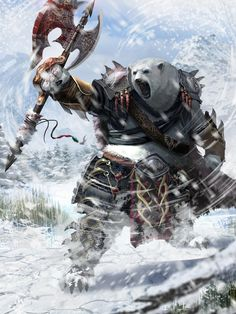 Epic Gurahl warrior