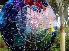 Mandala Olho de Hórus Astrológica