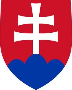 Coat of arms of Slovakia - Štátny znak Slovenska – Wikipédia Bratislava, Slovakia Flag, Cross Symbol, Warsaw Pact, National Animal, Central And Eastern Europe, Pattern Photography, Austro Hungarian, Hd Desktop