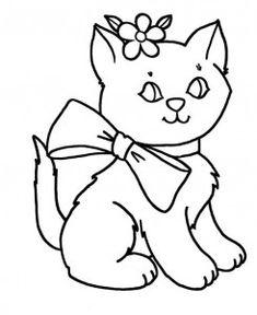 cat coloring pages coloring pages Cat Coloring Pages Pinterest