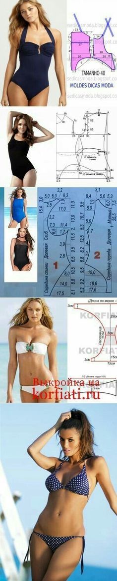 0b8cb6b604 Basic swimsuit construction Lingerie Patterns
