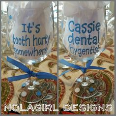 Dental Hygienist Appreciation #dental #dentalhygienist #teeth #toothhurty #teeth #tooth #wine #southern #blessed #preppy #gift #ladies #etsy #wineglass #dentist #dental #appreciation #etsy #shopsmall #ladies #southern #blessed