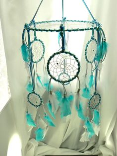Dream Catcher Mobile. $82.00, via Etsy.