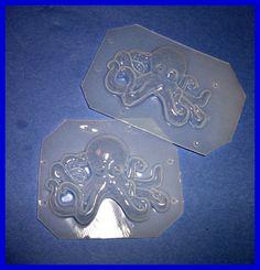 .Octopus resin molds