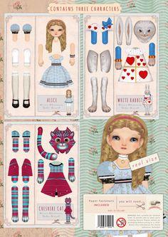 ON SALE New collection Alice's adventures in por Oxfordoll en Etsy