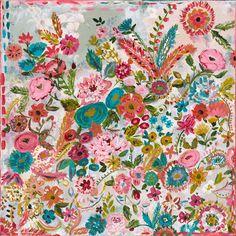 """Garden at Dusk"" Original Painting"