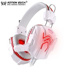 >> Click to Buy << EACH GS310 HIFI Stereo Bass Gaming Headphone Computer Game Headset Headband With Mic Glaring LED Light For PC/Laptop #Affiliate