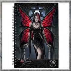 Arachnafaria - Gothic Spider Fairy with Spider Webs and Gothic Window Fantasy Mounted Art Print Beautiful Artwork by UK Artist Anne Stokes - Made in the United Kingdom Printed canvas art print Mounted Anne Stokes, Fantasy Creatures, Mythical Creatures, Elfen Fantasy, Fairy Pictures, Gothic Fairy, Gothic Angel, Fantasy Kunst, Beautiful Fairies
