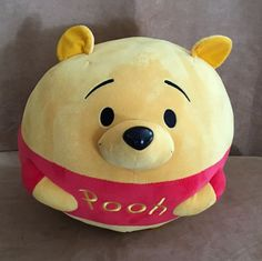 "15"" XL Ty Beanie Ballz Winnie the Pooh Disney Plush Stuffed Animal balls boo #Disney"