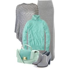 A fashion look from November 2014 featuring j crew sweaters, grey poncho y Acne Studios. Browse and shop related looks.