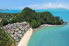 A secure gated estate on Bophut beach, in Koh Samui