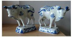 Online veilinghuis Catawiki: Porceleyne Fles - 2 koeien