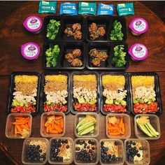 Great prep work by @samgbbg to nail her intake this week and maximize results from her @kayla_itsines workout. - ALL-IN-ONE TOOL & GUIDES - Build Custom Plans & Set Nutrition Goals BMR BMI & Max Rate Calculator Learn Your Macros by Body Type & Goal Grocery Lists Automated to Weekly Needs Accurate Cooking and Prep Summaries Combine & Export Data for Two Plans Track Your Progress & Daily Allowance Food Lists for Clean Eating Database of Over 7500 Foods Sleep and Mealtime Planner Account
