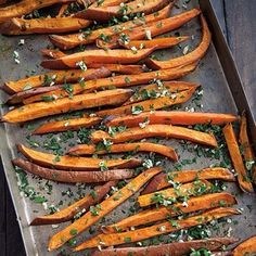 Sweet Potato Oven Fries | Williams-Sonoma Taste (subtract Parmesan!)