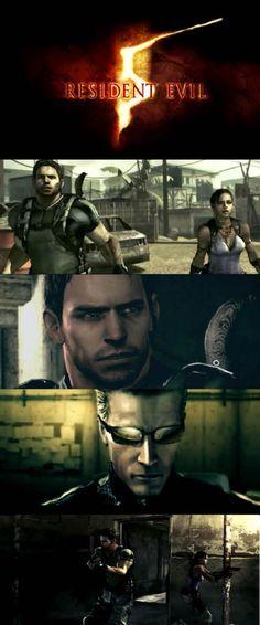 #ResidentEvil 5 Is still Capcom top selling game of all time! #ChrisRedfield and #ShevaAlomar http://www.levelgamingground.com/resident-evil-5-review.html