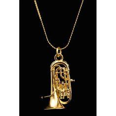 Buy Euphonium Necklace - Gold