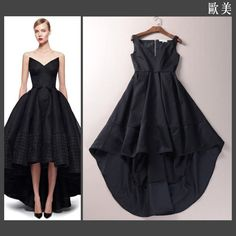 Black Green High Low Maxi Dresses Long Woman Dress Party Woman Dress Spring 2015 Women Long Dress  t1151224