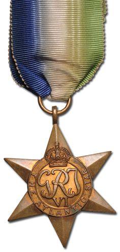 1939-1945 WWII Atlantic Star Medal - Downies.com