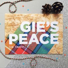 353 best scottish christmas images on pinterest scotland gies peace funny naughty scottish christmas card by hiya pal christmas cards tartan m4hsunfo