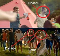 OMG Directioners, did you guys know that eleanor, danielle, and perrie were in the Live while we're young music video??? Cool!