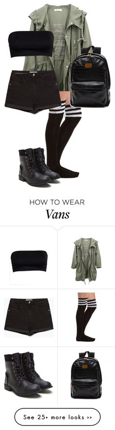 """""""Untitled #1"""" by hannah-42-1 on Polyvore featuring Charlotte Russe and Zara"""