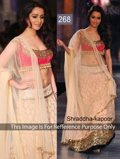 Shop Shraddha Kapoor by Colours Fashion online. Largest collection of Latest Lehangas online. ✻ 100% Genuine Products ✻ Easy Returns ✻ Timely Delivery