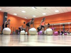 fitball - YouTube Stability Ball Exercises, Medicine Ball, Excercise, Exercise Ball, Aerobics, Fitness Tips, Youtube, Sports, Arm Workouts