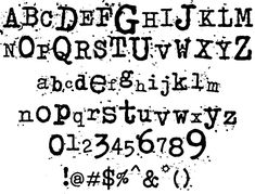 Download the Junkos Typewriter font for free or use it to generate a fancy logo using the custom graphics generator. Typewriter Typewriter Font Generator, Old Typewriter Font, Writer Logo, Cool Fonts, Fun Fonts, Character Map, Lettering Tutorial, Stencils, Typography