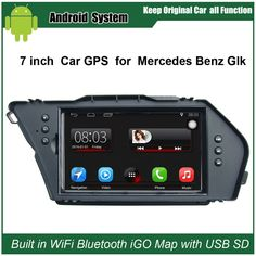 Upgraded Original Car Radio Player Suit to Mercedes Benz Glk Car Video Player Built in WiFi GPS Navigation Bluetooth