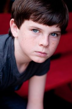 Chandler Riggs, he's so little in this picture