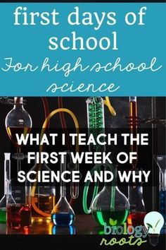 First Week of High School Science: What I Taught and Why - - First Week of High School Science: What I Taught and Why High School Chemistry first day of school science high school first week of school science activities ideas High School Science Projects, High School Science Experiments, Science Room, High School Chemistry, High School Activities, Science Curriculum, Science Biology, Teaching Biology, Science Activities