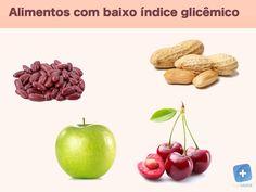 Os alimentos com baixo índice glicêmico são os alimentos que não elevam muito o açúcar no sangue e por isso são bons para os...