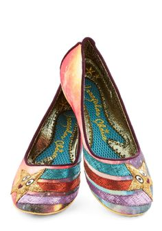 If I was rich, this is the first thing I would buy... Irregular Choice Starship-Shape Heel | Mod Retro Vintage Heels | ModCloth.com