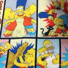 Estampa Simpsons