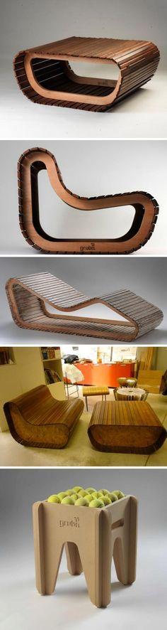 Mobiliario de diseño sustentable. Por Gruba - gruba.com.ar #Furniture #Design #Argentina