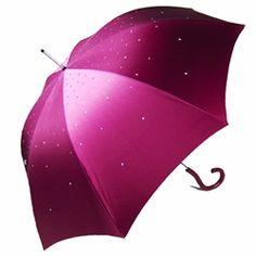 Pasotti Italian Umbrella - Pink Swarovski Umbrella & Handle (course I REALLY want the pink one!)