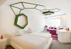 A luxe stay in a hip, boutique hotel, located in Mexico City's vibrant Zona Rosa district