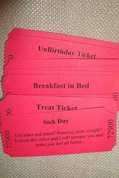 Boyfriend tickets