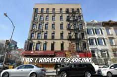 1 BR apt for rent in Harlem at $2,495/mo.Brownstone,Dishwasher,Hardwood, Marble Bath, Granite Kitchen.Contact us for details. Web ID:94430. #NYCApartments #MovingToNYC #NYCrentals #ApartmentHunting #Moving #NYC #NoFeeApt