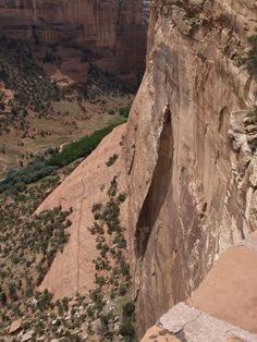 Canyon De Chelly. The canyon is just out of Chinle, Arizona on the Navajo Reservation.