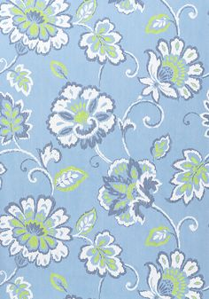 ALEXA, Blue and Green, T4919, Collection Jubilee from Thibaut