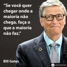 pictame webstagram Gates happy do this Bill Gates Frases, Bill Gates Quotes, Motivational Phrases, Inspirational Quotes, Cogito Ergo Sum, Digital Marketing Strategy, Beauty Quotes, Some Words, Einstein