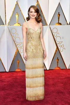 We are still obsessing over Emma Stone's Oscars 2017 look. Could she be more perfect?